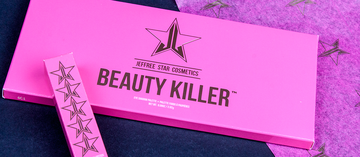 First look - Jeffree star Beautykiller Palette